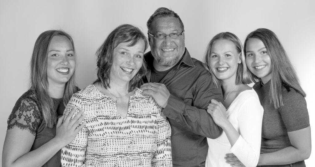 Perhepotretti Jyväskylä Muurame valokuvaamo