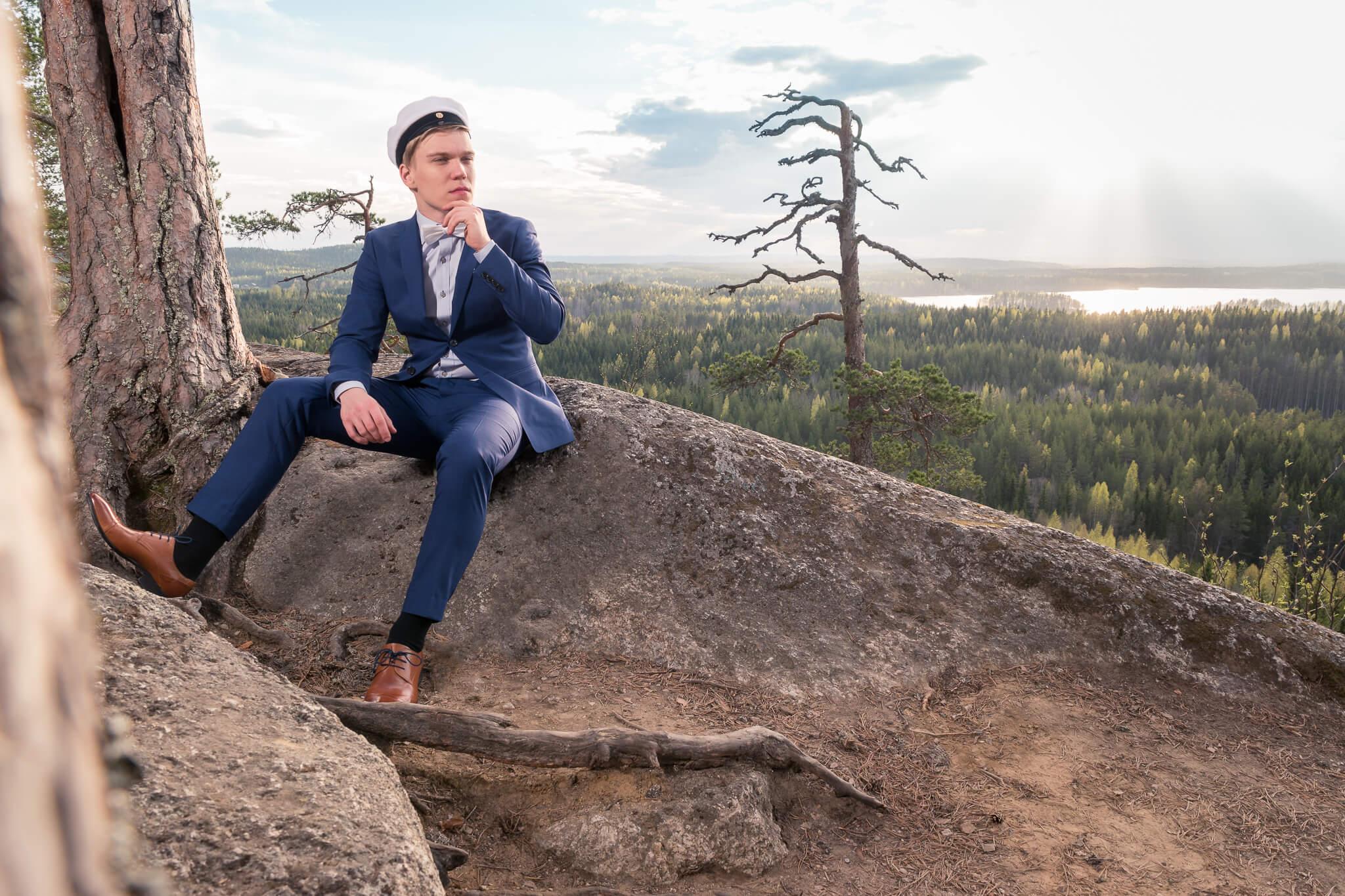 Valmistujaiskuva Jyväskylä - ylioppilaskuva